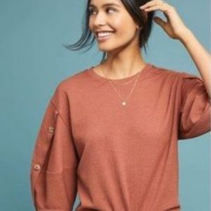 Anthropologie Cyrus top xs current air new